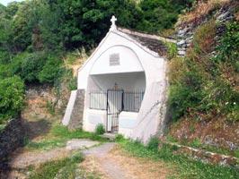 Antica cappella della fonte di santa Giulia