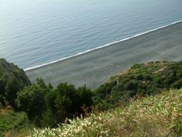 Spiaggia artificiale di Nonza